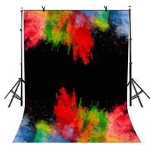 5x7ft Watercolor Backdrop Splash Ink Personality Photography Background and Studio Props
