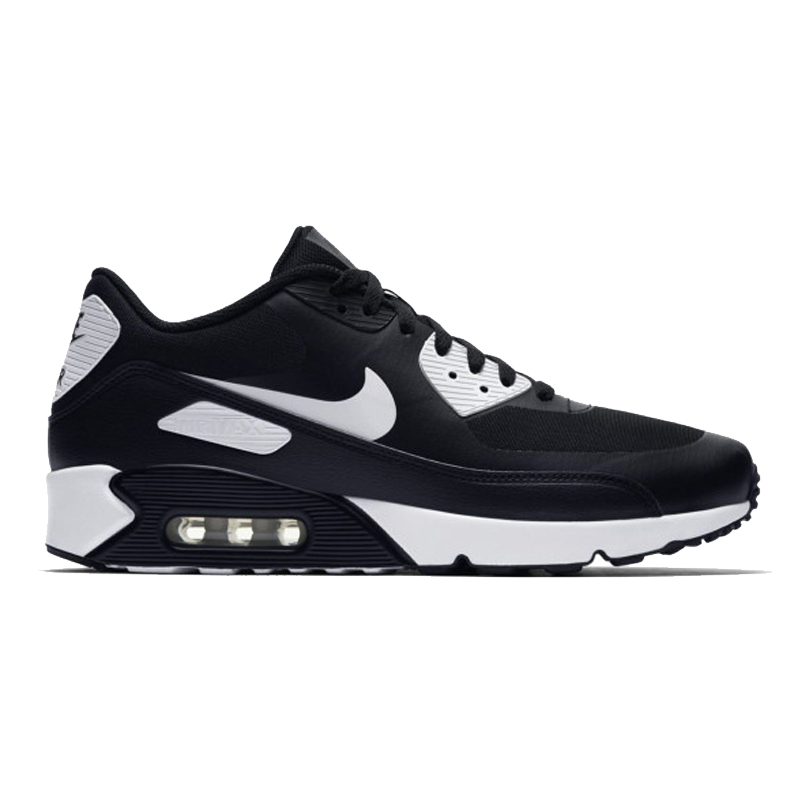 sale retailer e22d0 22b80 Original NIKE AIR MAX 90 ULTRA 2.0 Men's Running Shoes Sneakers Breathable  Sport Outdoor Men Sneakers Black and White 875695