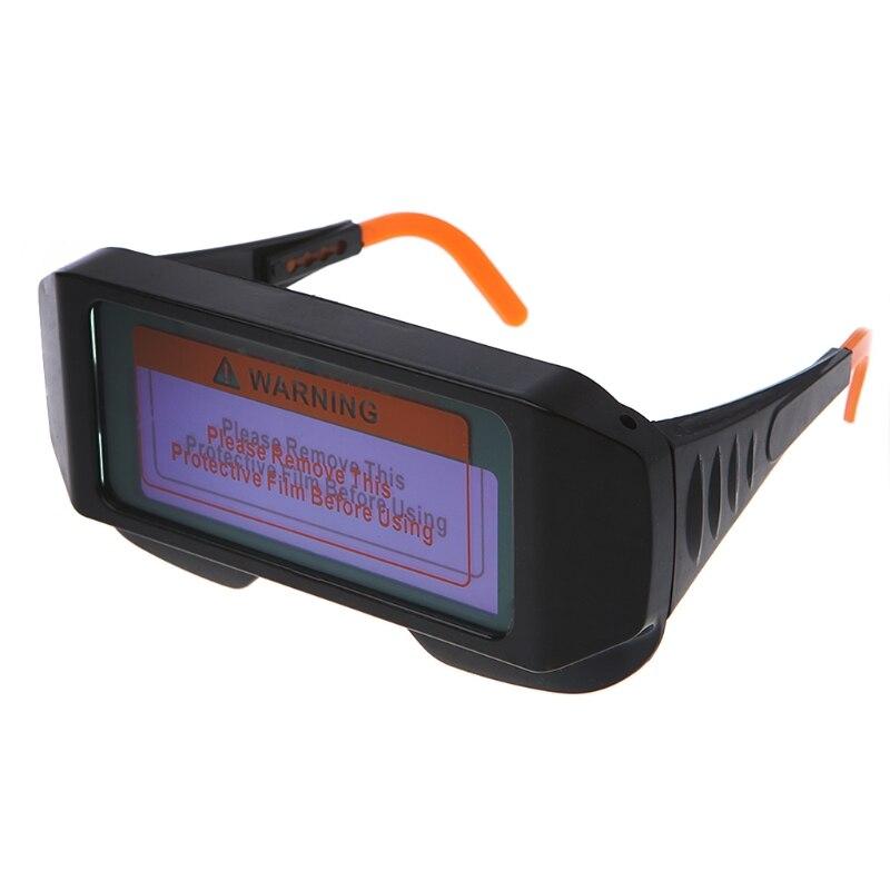 Solar Auto Darkening Welding Glasses TIG MIG Welder Eyes Goggle Arc IR Protector