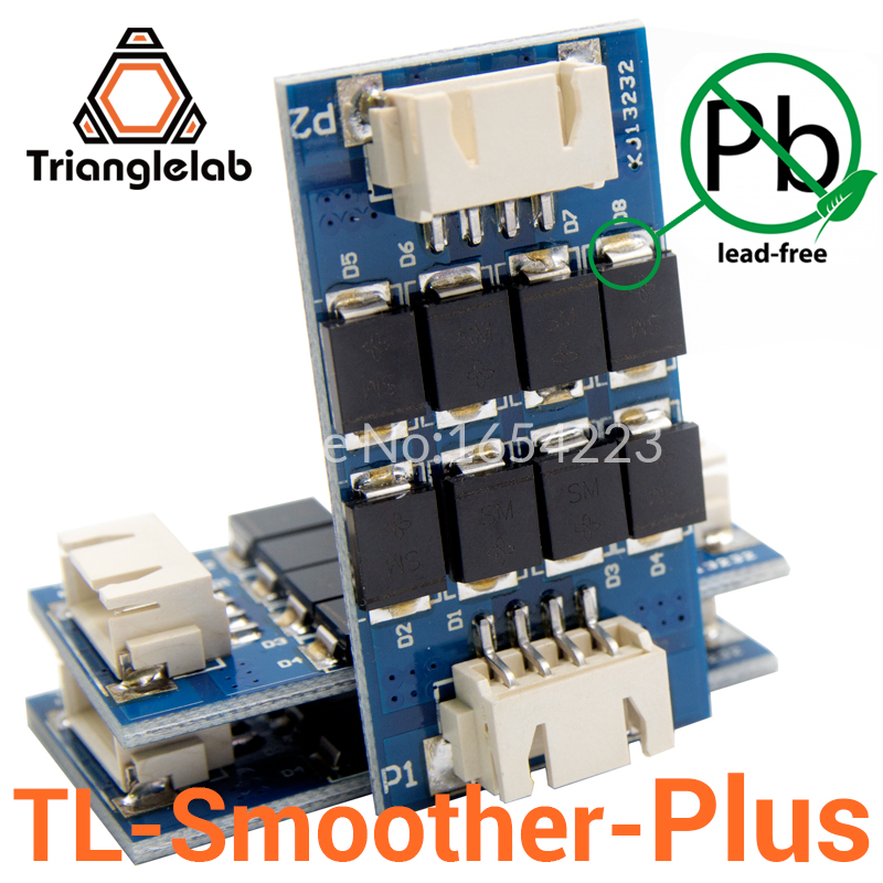 Trianglelab 3 pieces pack TL-smoother PLUS addon module for 3D pinter motor drivers motor Driver Terminator reprap mk8 i3