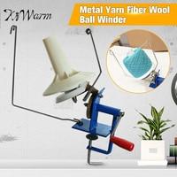 Large Metal Yarn Fiber String Ball Wool Hand Operated Cable Winder Machine Household Winder Holder Winder Fiber 10oz Heavy Duty