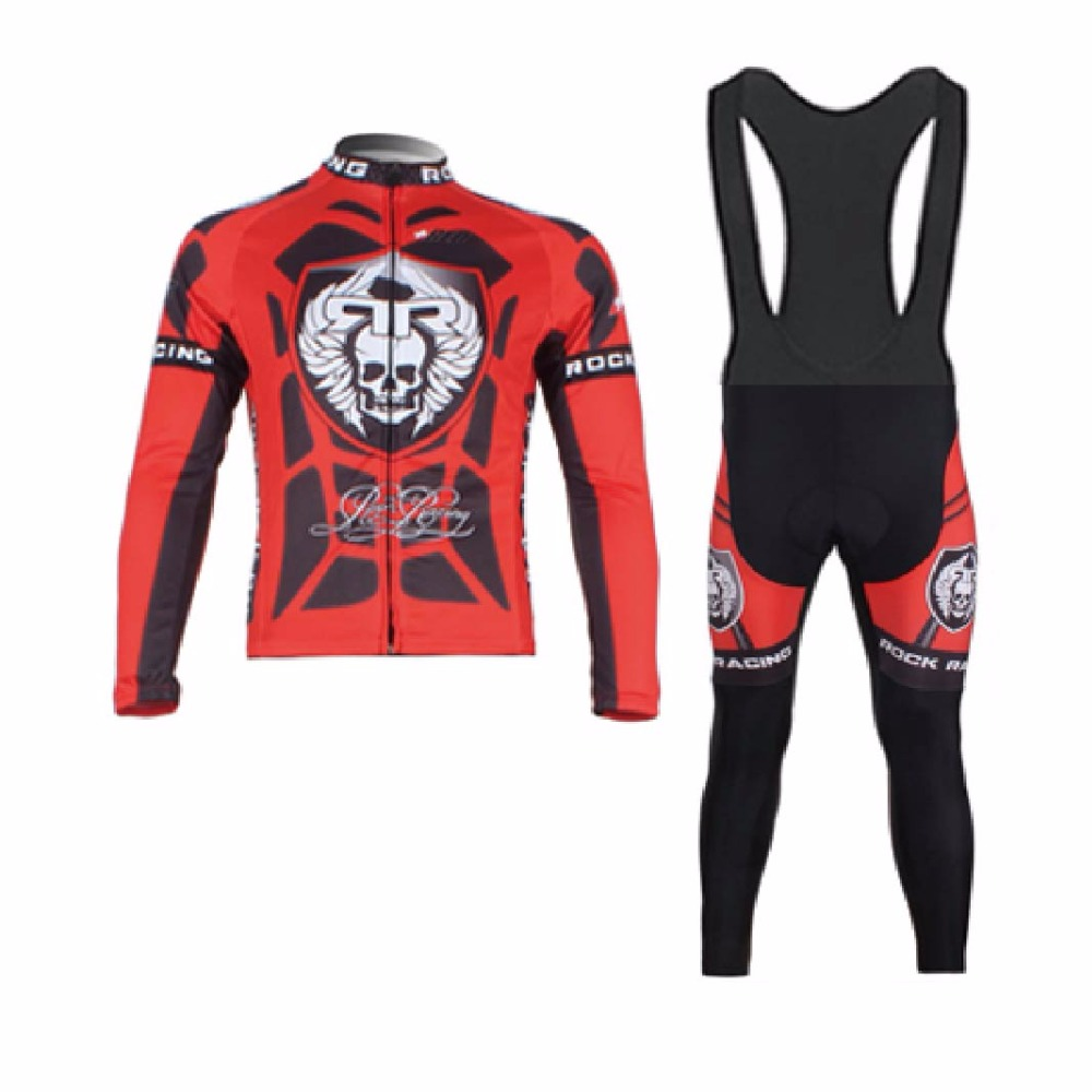 2018 New Riding Sweat Quick-drying New Jersey Bicycle Riding Long-sleeved Top + Pants Mens Riding Wear Ropa CiclismoXXS TO 5XL