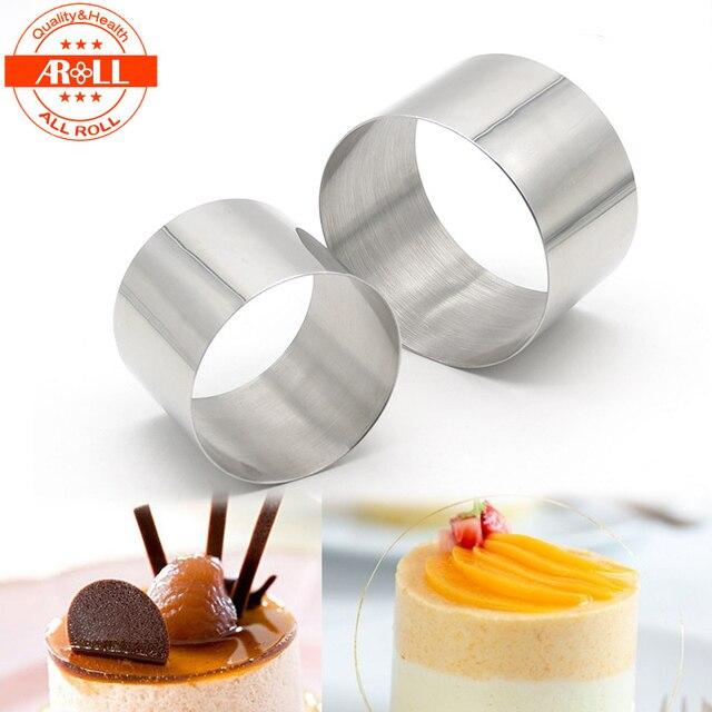 Neue Kleine Mini Runde Kuchen Mousse Ring Form Form Edelstahl ...