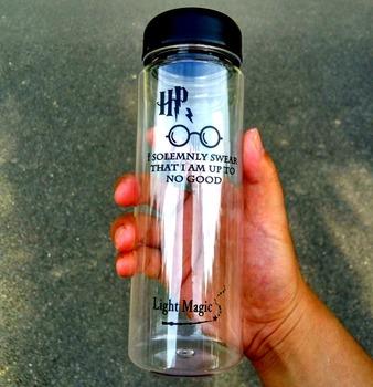 500ml letnia prosta butelka wody ekologiczna podróż Sport zdrowy sok z cytryny przyjazna butelka wody tanie i dobre opinie Butelki wody Ce ue Lfgb Z tworzywa sztucznego Wyposażone Zapas rzeczy Dorosłych Brak Zaopatrzony Ekologiczne Light Magic