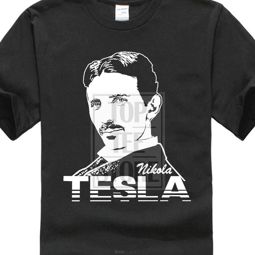 프라이드 오브 크리처 티셔츠 니콜라 테슬라 세르비아계 미국인 발명가 물리 팬 T 셔츠