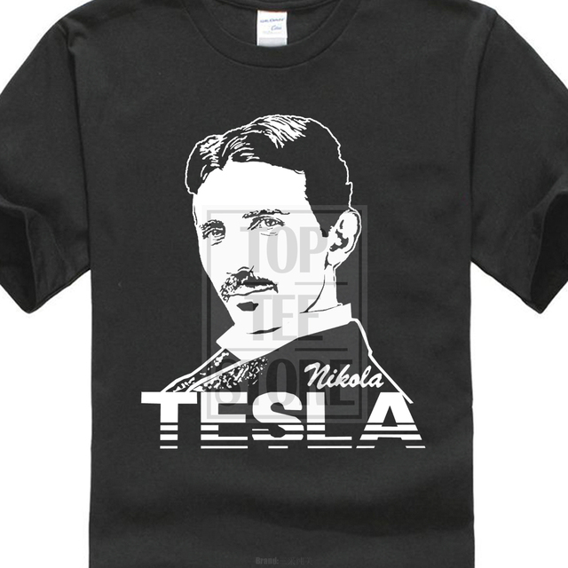 0ed5308b Pride Of The Creature T Shirts Nikola Tesla Serbian American Inventor  Physics Fan T Shirt