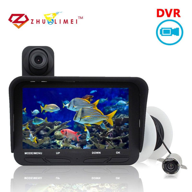 ZLM Underwater Video Camera 20M Professional Infrared Fishing Camera 140 Degree Cam For Fishing Underwater camcorder вальсакор 160мг 90 таблетки