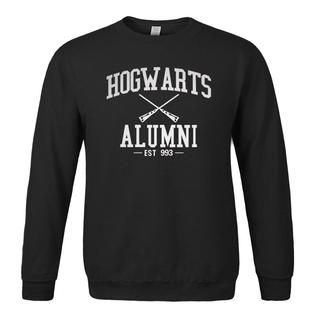 Sweatshirt men 2019 spring winter Hogwarts Alumni print O-neck hoodies brand-clothing men's sportswear harajuku k-pop tracksuits