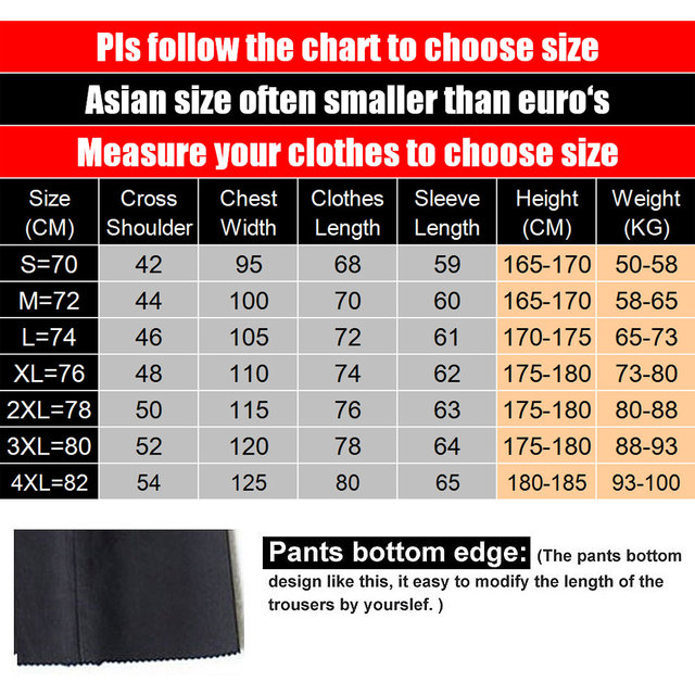 MYDBSH Brand Men Suits Big size Chinese Mandarin Collar Male Suit Slim Fit Blazer Wedding Terno Tuxedo 2 Pieces Jacket & Pant 1