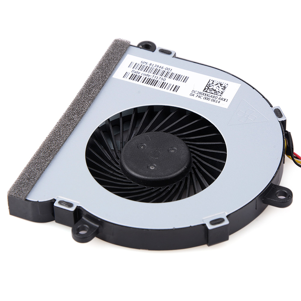 Image 5 - 1pcs 4 Pin Notebook Computer Cooler Fans Laptops Replacement Accessories For  HP 15 AC Notebook Cooling Fans-in Fans & Cooling from Computer & Office