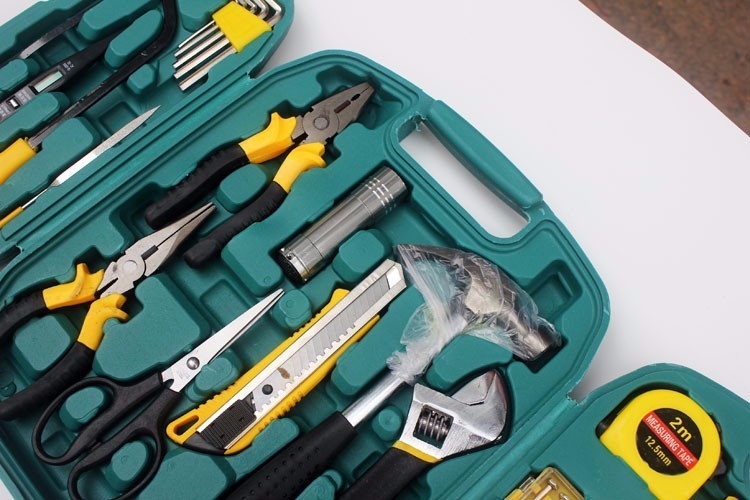 27PCS aukštos kokybės atsuktuvų rinkinys, peilių taisymo - Įrankių komplektai - Nuotrauka 2