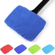 5 шт. Чистящая Щетка для машины ткань для чистки окон уход за автомобилем легкая чистка без ручки чистая ткань случайный цвет