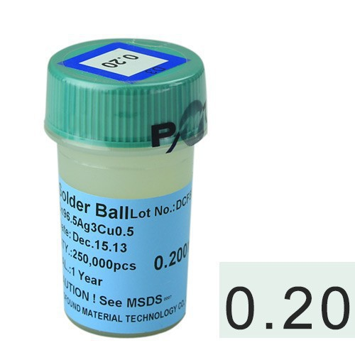 lead-free 250k 0.2mm solder balls BGA reballing soldering balls lead free bga solder balls 250k 0 35mm for bga repair bga reballing kit bga solder ball