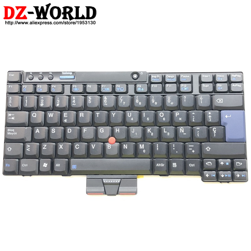 New Original for Lenovo Thinkpad X200 X200S X200T X201 X201i X201S X201T Spanish Keyboard ES SP Teclado 42T3748 42T3715 new screw set lenovo thinkpad x220 x220t x220i x230 x230t x200 x200s x200t x201 x201s x201t tablet laptop screws bag 04w1419