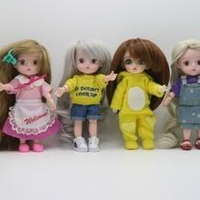 Парик для куклы(1/8 BJD, 16 см кукла, пластиковая кукла) Окружность головы: 14 см