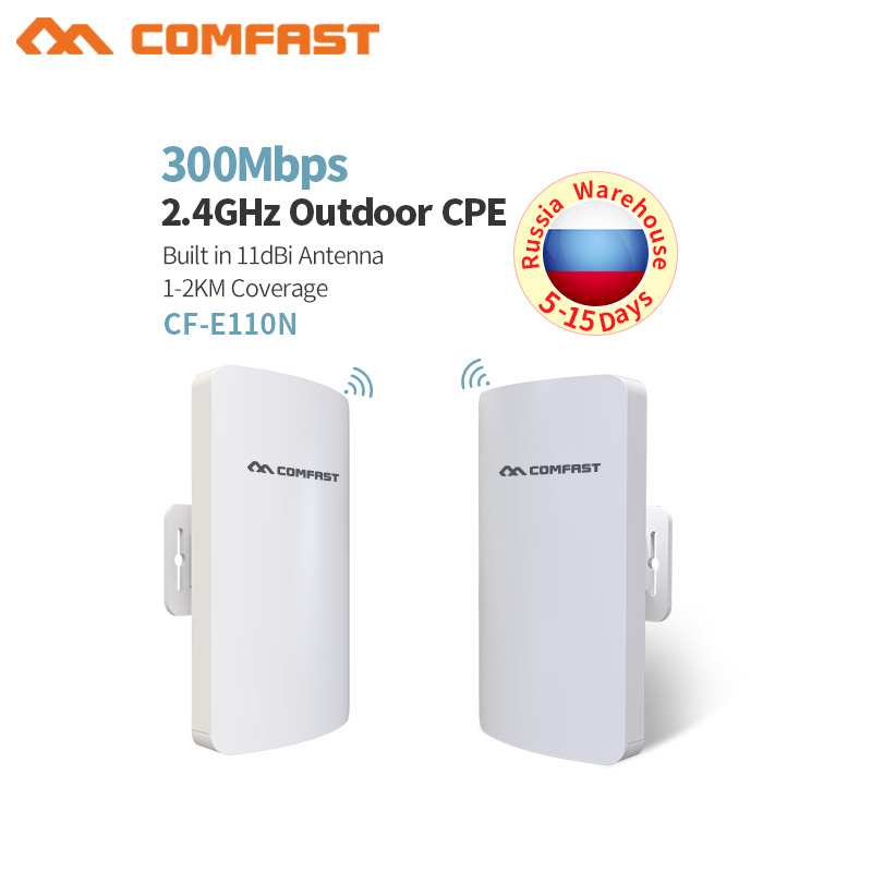 COMFAST 300Mbps Wireless Access Points Wifi AP CPE Range Extender Booster Bridge