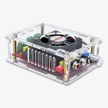 TDA7498 100W+100W High Power Audio Digital amplifier board DC 12 24V Car RCA amplificador Speaker Home Theater