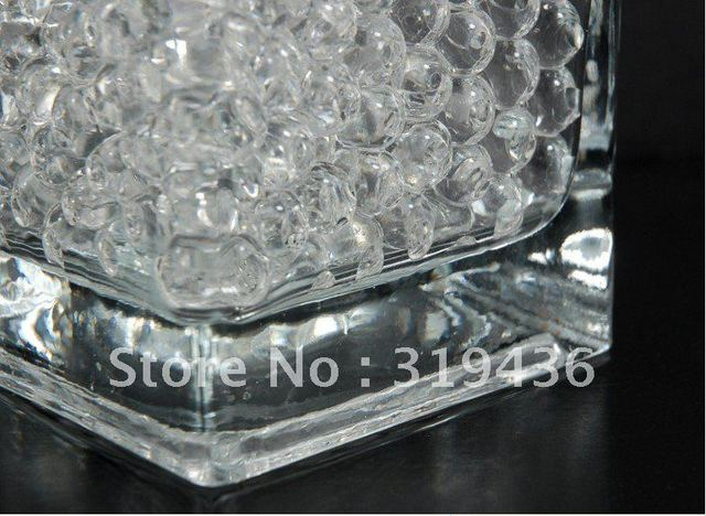 High Clear Transparent Crystal Soil Water Beads Hydrogel Jelly Ball