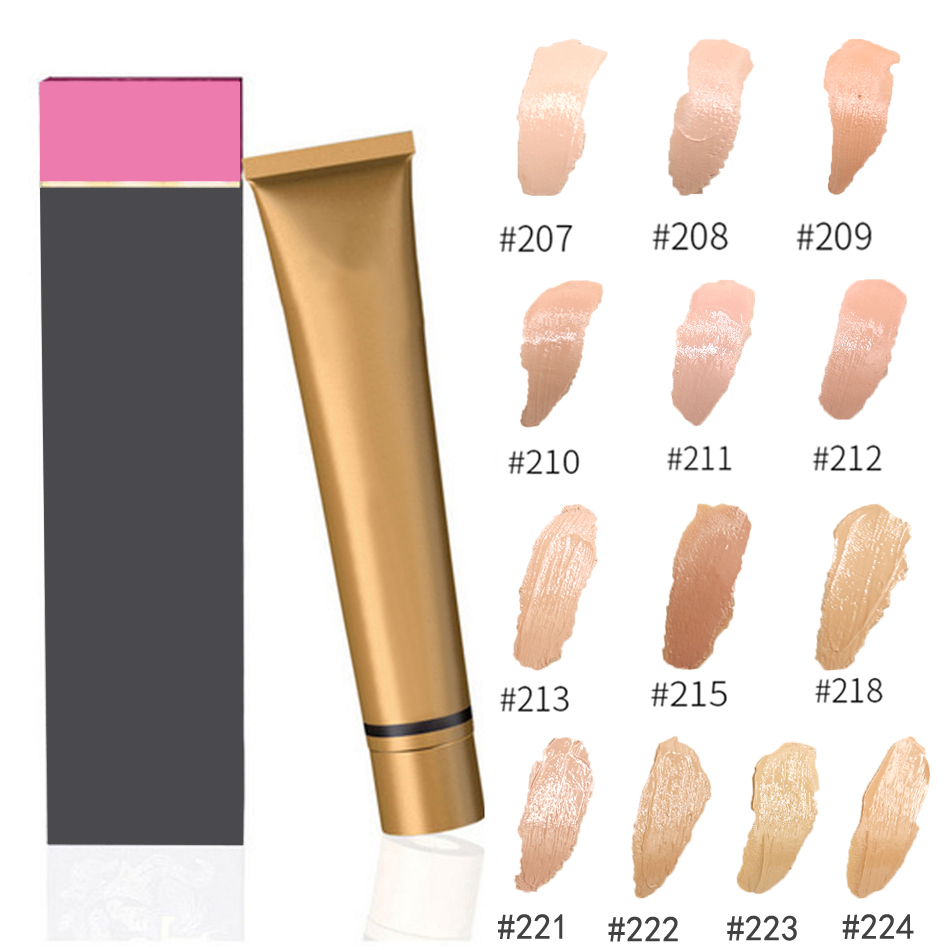 Natural Face Concealer Cosmetics Make up Full Cover Primer Concealer Cream High Cover Make Up Foundation