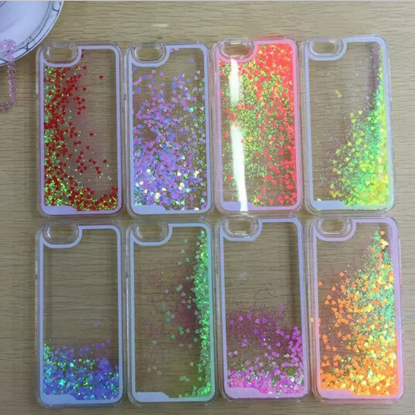 premium selection 122e1 37068 US $2.36 |For iphone 5c case! Fashion Bling Glitter Lovely Heart Model  Liquid Quicksand cell phone cases for iphone 5c with Top Quality on ...