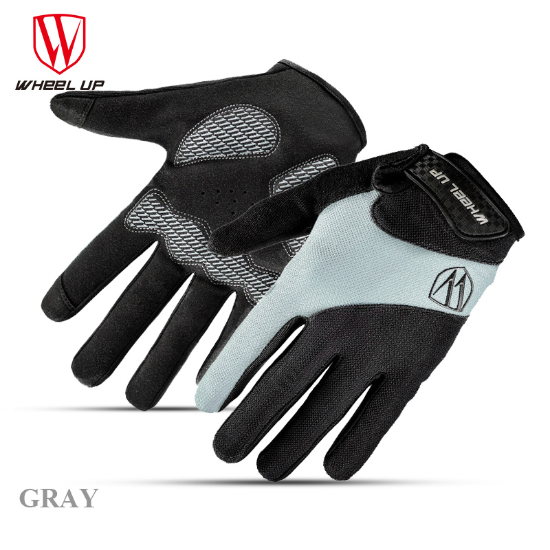 Wheel Up Bike Bicycle font b Gloves b font Full Finger Bike Bicycle MTB font b