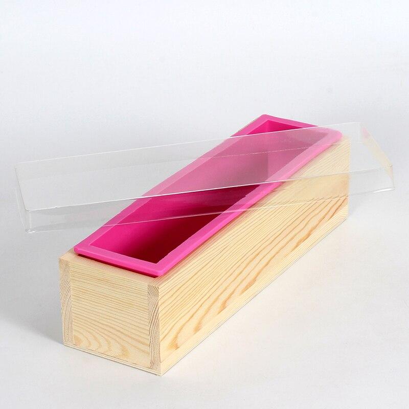Rectangular sapun de silicon mucegai cu transparent verticale acrylic - Arte, meșteșuguri și cusut - Fotografie 2