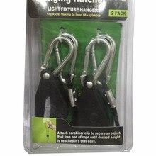 Idea light Useful Adjustable 1/8 Rope Ratchet Lights Lifters Reflector Led Grow Light Hangers Zinc Alloy Hook Lamps Parts
