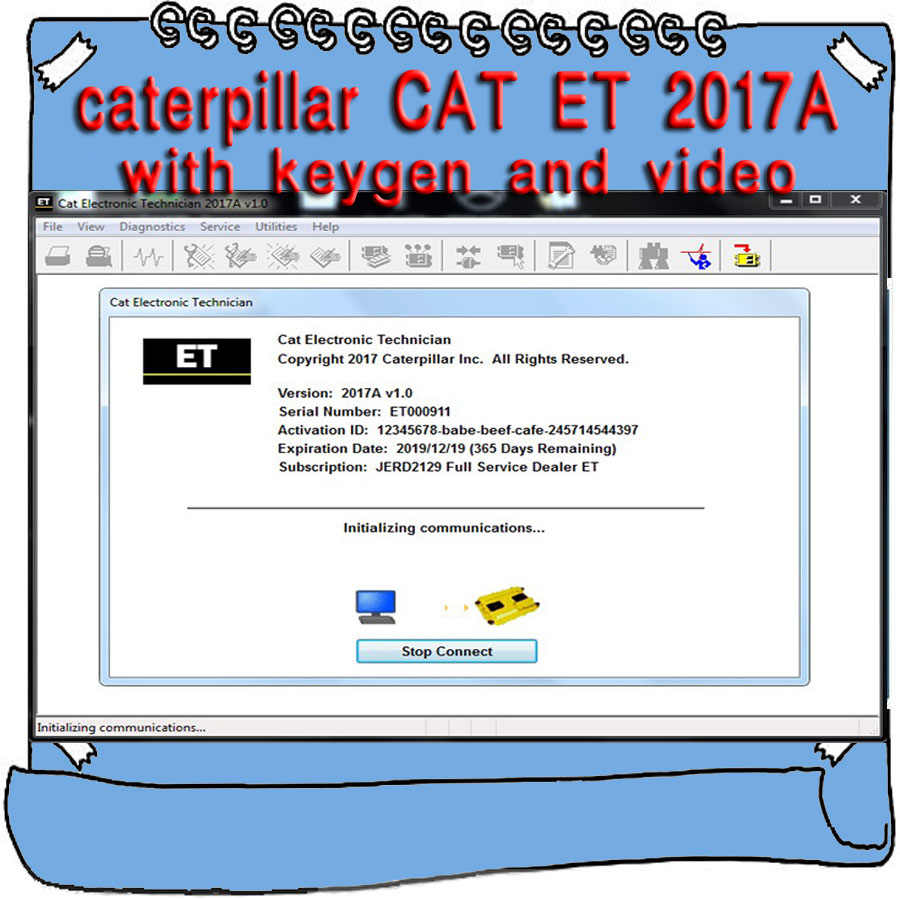 caterpillar diagnostic software free