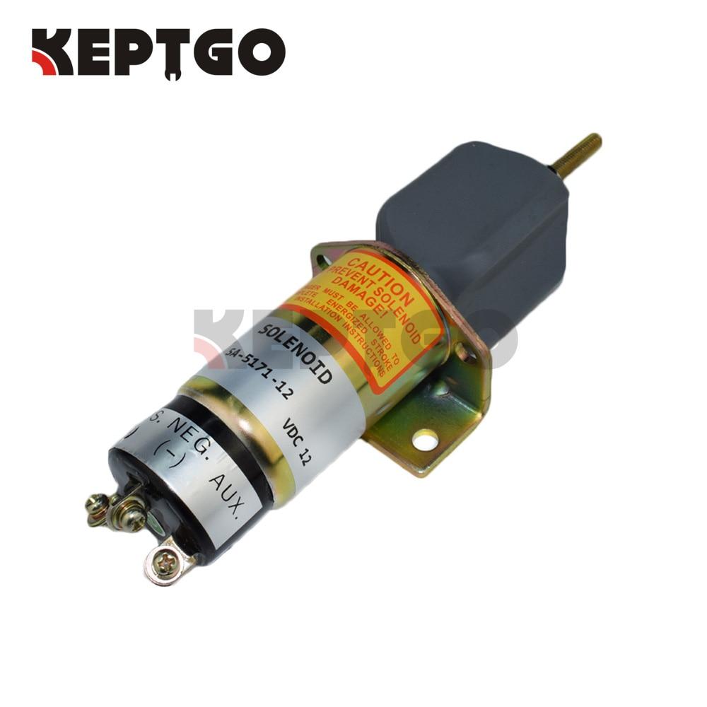 Stop Solenoid Valve SA-5171-12, 1502-12C3U1B1S1A, 12v For KubotaStop Solenoid Valve SA-5171-12, 1502-12C3U1B1S1A, 12v For Kubota