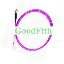 繊維パッチコードジャンパー SC ST マルチモード OM4 シンプレックス GoodFtth 20 100 m
