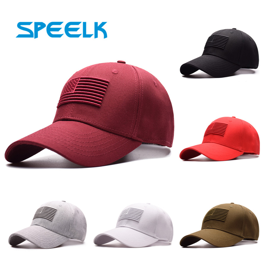 Speelk High Quality USA Flag   Baseball     Caps   Women Casual Snapback Hats Men Sun Visors Hat Unisex New Casquette   Cap   Wholesale