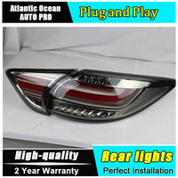 A&T Car Styling for Mazda CX 5 Taillights 2011 2015 CX5 LED Tail Lamp New CX 5 LED Rear Lamp DRL+Brake+Park+Signal led lights