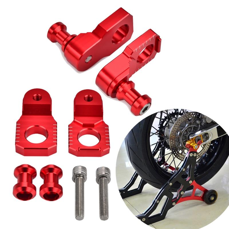 Red Honda CBR600RR Frame Sliders 2009 2010 2011 2012 2013 2014 2015 2016 2017 2018