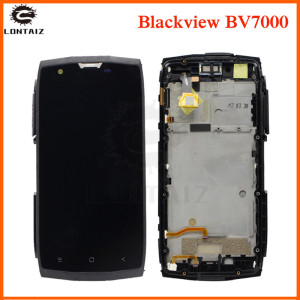 Image 1 - AAA quality LCD For Blackview BV7000 LCD Display Touch panel Screen sensor Digitizer with frame Assembly For Blackview BV 7000