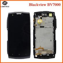 LCD de calidad AAA para Blackview BV 7000 pantalla LCD con panel táctil, sensor de pantalla Digitalizador con marco de montaje para Blackview BV 7000