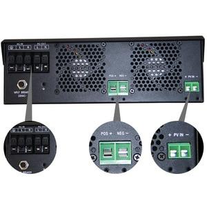 Image 5 - 5000W Reine Sinus Welle Solar Hybrid Inverter MPPT 80A Solar Panel Ladegerät und AC Ladegerät Alle in Einem für max 4000W 500V Solar Eingang
