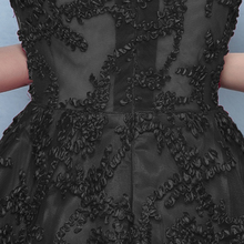 DongCMY New HomeComing Dresses WT0030 Vestdio logon Formal long Party Black dress