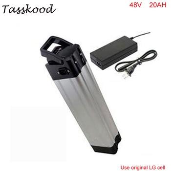Silver fish-batería de litio para bicicleta eléctrica, 48V, 20Ah, 48V, 1000w, bafang,...