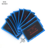 10pcs80 125mmTire Tyre Repair Patch Kit Cycling Tools Meridian Tire Repair Patch For Cars Truck With