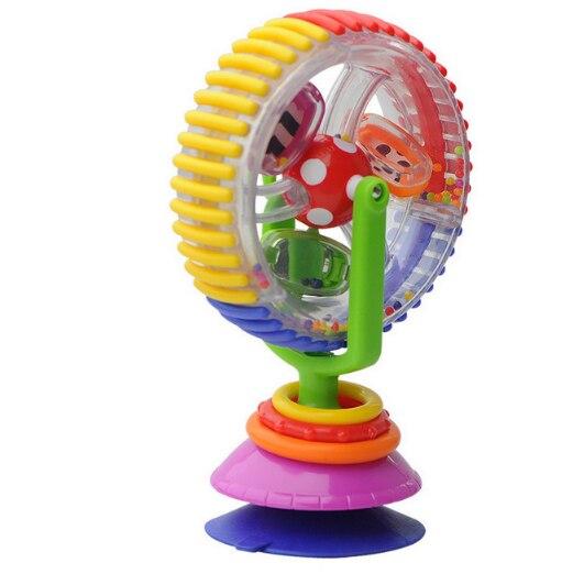 Baby Spielzeug Drei-farbe Modell Rotierenden Riesenrad Kinderwagen Esszimmer Stuhl Pädagogisches Spielzeug Für Baby Geschenk Dauerhaft Im Einsatz