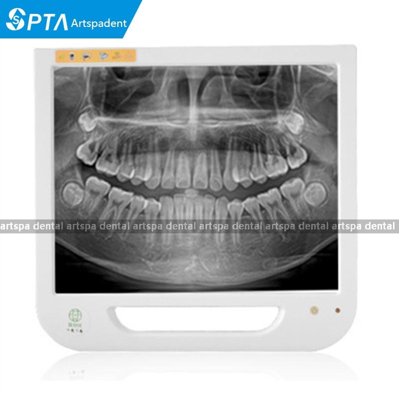 17 بوصة تعمل باللمس الأسنان مراقب داخل الفم نظام الكاميرا للزرع