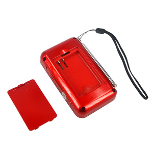 Image 5 - Kebidueimini 듀얼 밴드 충전식 디지털 LED 디스플레이 패널 스테레오 FM 라디오 스피커 USB TF mirco SD 카드 MP3 음악 플레이어