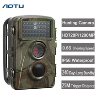 Outlife Hunting Trail Camera 720P Wild Camera GPRS IP66 Infrared Night Vision For Animal Photo Traps Hunting Camera
