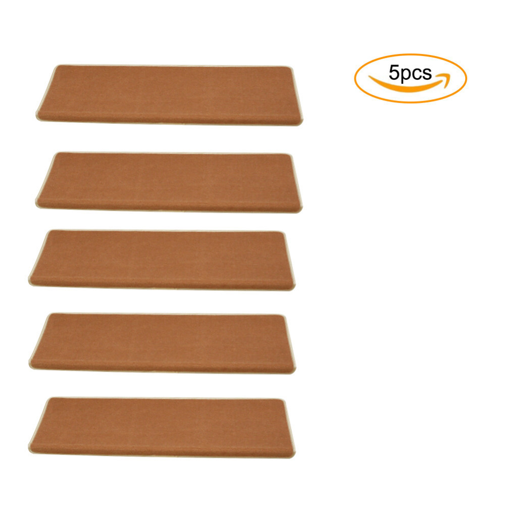 Charming 5pcs/set New Home Anti Slip Floor Staircase Carpets Stair Treads Children  Safety Protector Mats 3cm Thicken Stair Rugs 65x24cm In Mat From Home U0026  Garden On ...