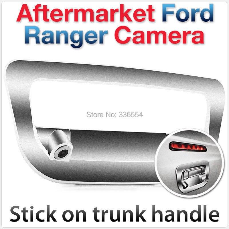 Pour Ford Ranger Arrière Inverse de Vue hayon Parking De Sauvegarde Caméra Tronc Poignée Couverture De Voiture RAPTOR RAMASSAGE 2012 2013 2014