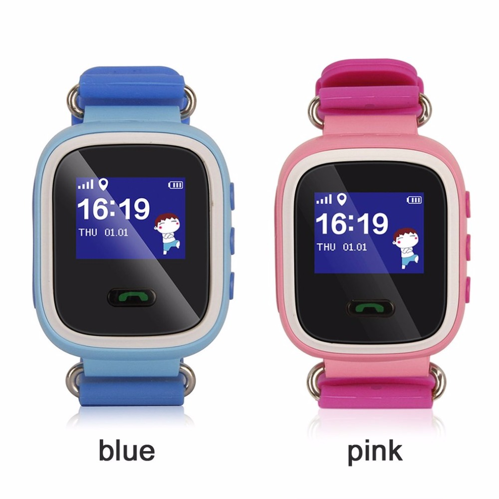 Bebé inteligente reloj Q50 niño reloj inteligente localizador rastreador Anti perdido Monitor encantador reloj soporte Micro tarjeta SIM para chico bebé