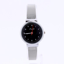 Reloj 2017 Bestselling Easy Style Girls Quartz Metal Mesh Belt Wrist Watch Dropshipping 17Jan18