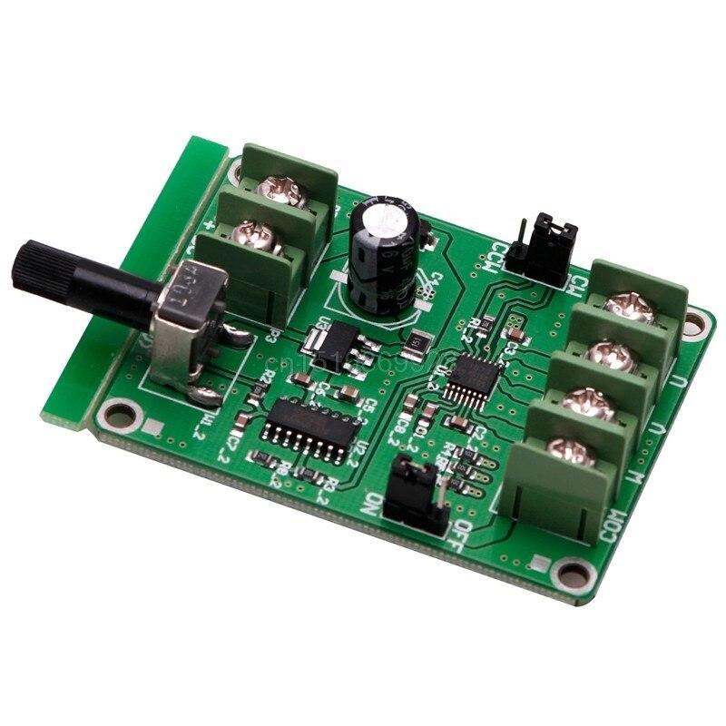 1 шт. 5 В-12 в DC бесщеточный контроллер платы драйвера для двигателя жесткого диска 3/4 провода Новый