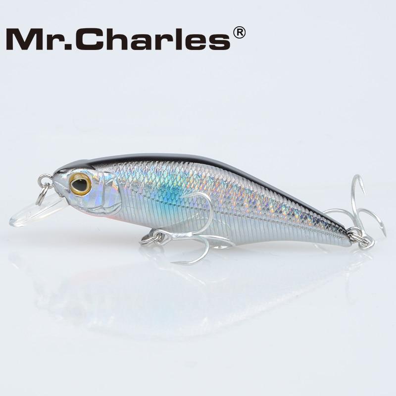 Mr.Charles CMC015 Kunstaas 70mm / 8.5g Shad, 0-0.8M Drijvend, - Visvangst - Foto 2