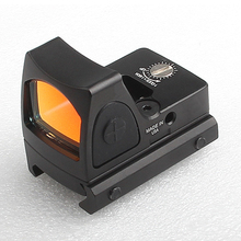 Мини RMR Red Dot Коллиматорный Прицел Глок/Shotgun Коллиматорный Прицел сфера fit 20 мм Рельса ткача Для Страйкбола/Охотничье Ружье RL5-0004